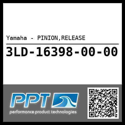 Yamaha - PINION,RELEASE