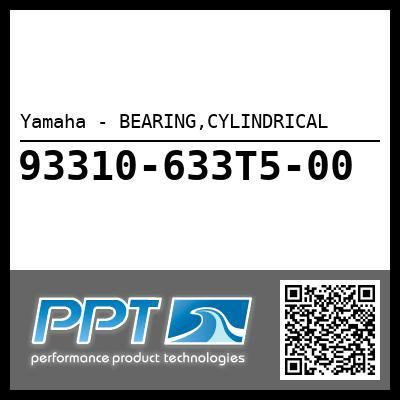 Yamaha - BEARING,CYLINDRICAL