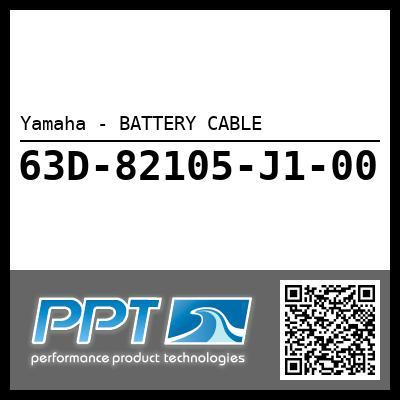 Yamaha - BATTERY CABLE