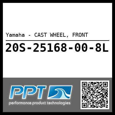 Yamaha - CAST WHEEL, FRONT