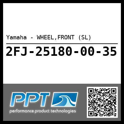 Yamaha - WHEEL,FRONT (SL)