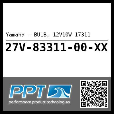 Yamaha - BULB, 12V10W 17311