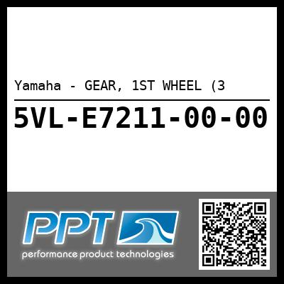 Yamaha - GEAR, 1ST WHEEL (3