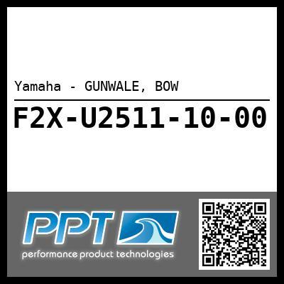 Yamaha - GUNWALE, BOW