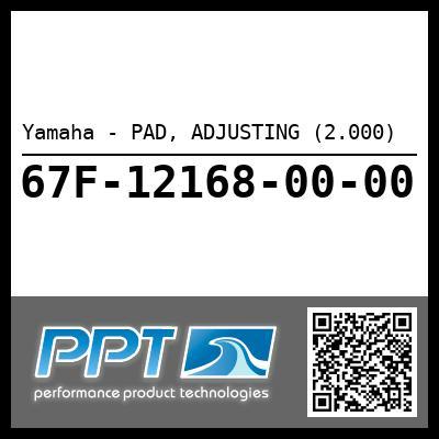 Yamaha - PAD, ADJUSTING (2.000)