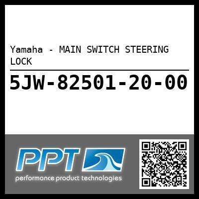 Yamaha - MAIN SWITCH STEERING LOCK