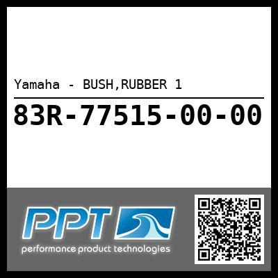 Yamaha - BUSH,RUBBER 1