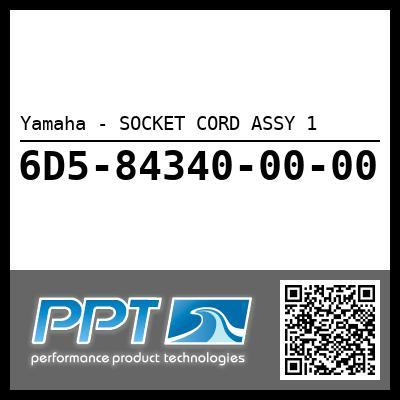 Yamaha - SOCKET CORD ASSY 1