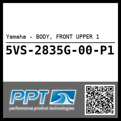 Yamaha - BODY, FRONT UPPER 1