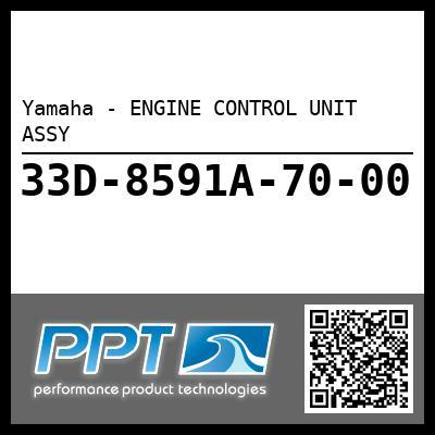 Yamaha - ENGINE CONTROL UNIT ASSY