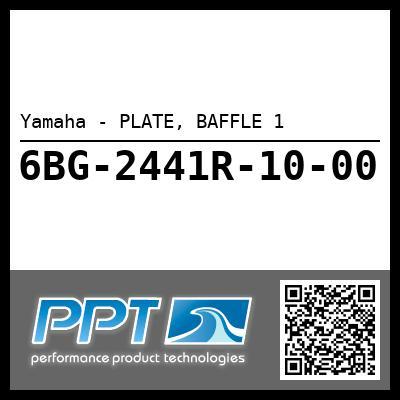 Yamaha - PLATE, BAFFLE 1