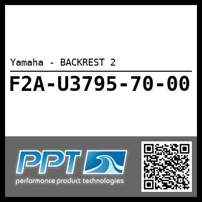 Yamaha - BACKREST 2