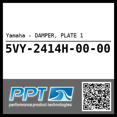 Yamaha - DAMPER, PLATE 1