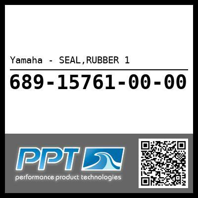 Yamaha - SEAL,RUBBER 1