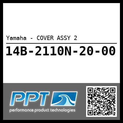 Yamaha - COVER ASSY 2