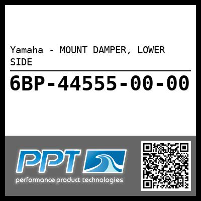 Yamaha - MOUNT DAMPER, LOWER SIDE