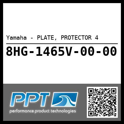 Yamaha - PLATE, PROTECTOR 4