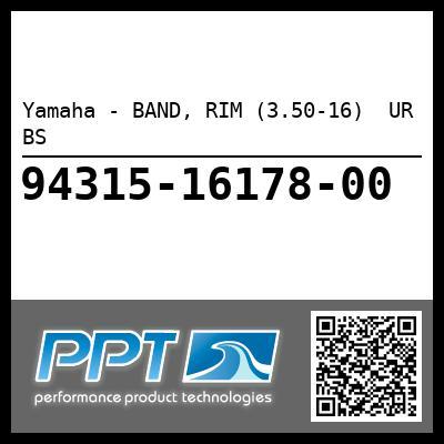 Yamaha - BAND, RIM (3.50-16)  UR BS
