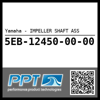 Yamaha - IMPELLER SHAFT ASS