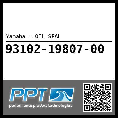 Yamaha - OIL SEAL