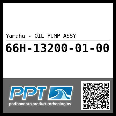 Yamaha - OIL PUMP ASSY