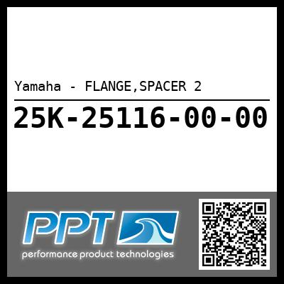 Yamaha - FLANGE,SPACER 2