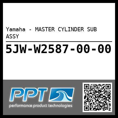 Yamaha - MASTER CYLINDER SUB ASSY