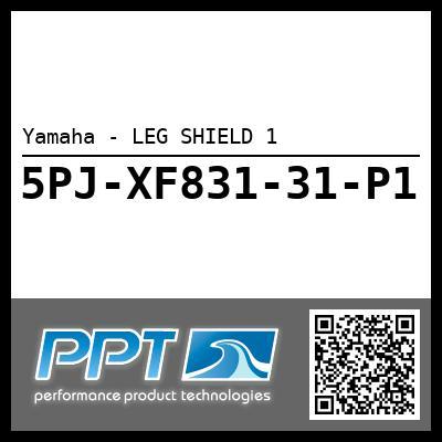 Yamaha - LEG SHIELD 1