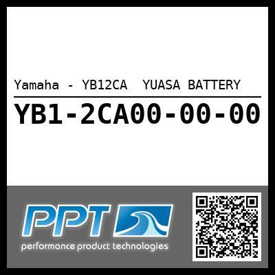 Yamaha - YB12CA  YUASA BATTERY