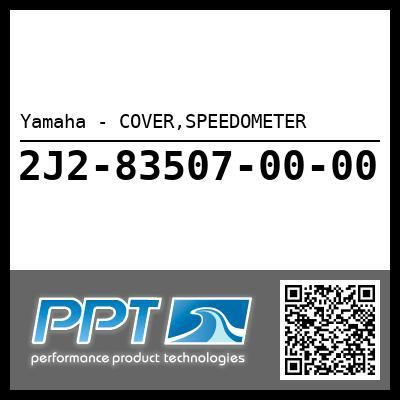 Yamaha - COVER,SPEEDOMETER