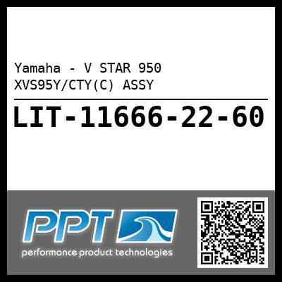 Yamaha - V STAR 950 XVS95Y/CTY(C) ASSY