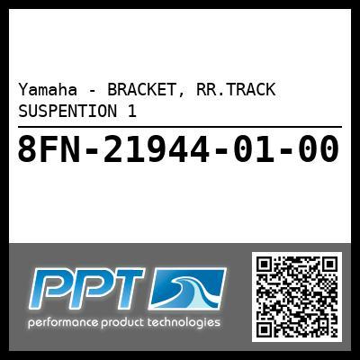 Yamaha - BRACKET, RR.TRACK SUSPENTION 1