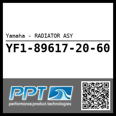 Yamaha - RADIATOR ASY