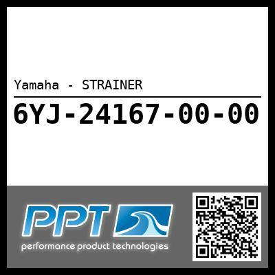 Yamaha - STRAINER