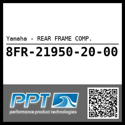 Yamaha - REAR FRAME COMP.