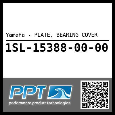 Yamaha - PLATE, BEARING COVER