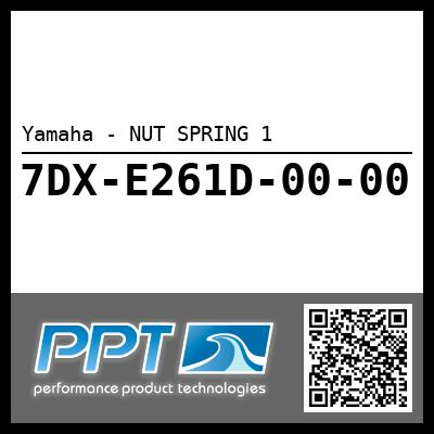 Yamaha - NUT SPRING 1