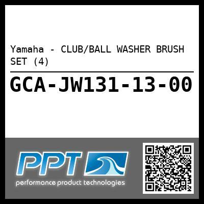Yamaha - CLUB/BALL WASHER BRUSH SET (4)
