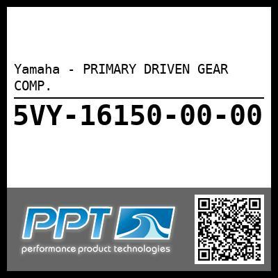 Yamaha - PRIMARY DRIVEN GEAR COMP.