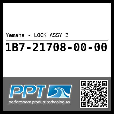 Yamaha - LOCK ASSY 2