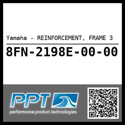 Yamaha - REINFORCEMENT, FRAME 3