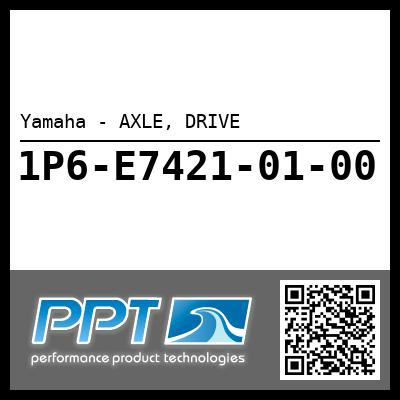 Yamaha - AXLE, DRIVE
