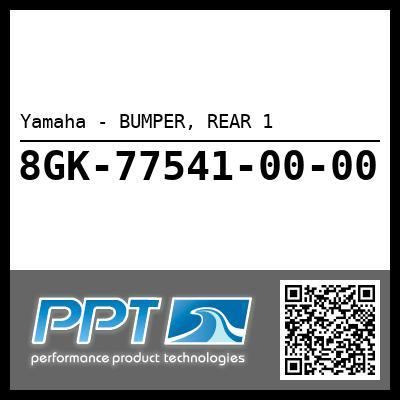 Yamaha - BUMPER, REAR 1