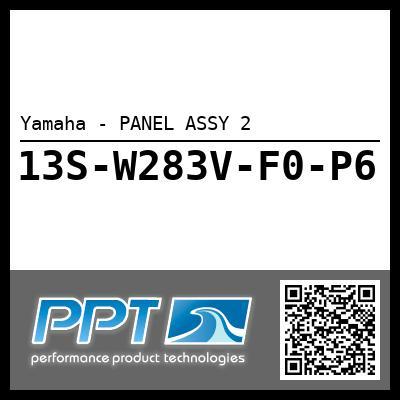 Yamaha - PANEL ASSY 2