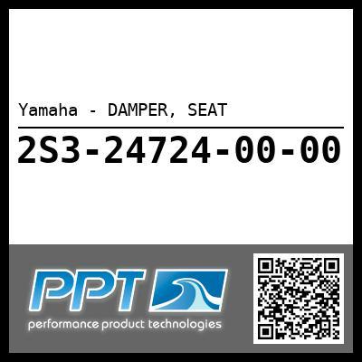 Yamaha - DAMPER, SEAT