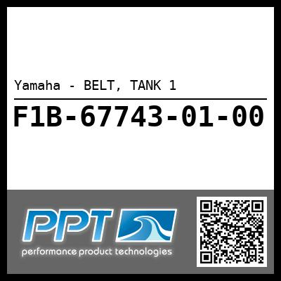 Yamaha - BELT, TANK 1