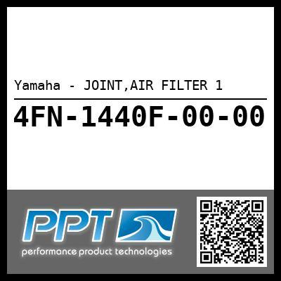 Yamaha - JOINT,AIR FILTER 1