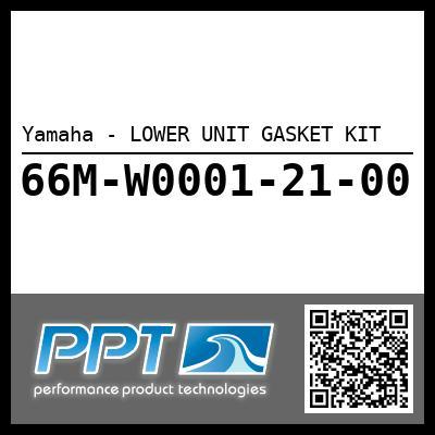 Yamaha - LOWER UNIT GASKET KIT