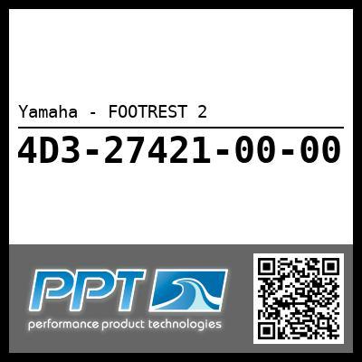 Yamaha - FOOTREST 2