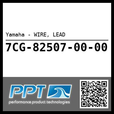 Yamaha - WIRE, LEAD